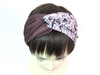 Cross headband Mulberry Autumn