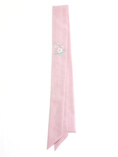 Ribbon Scarf Soft Pink