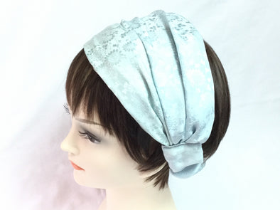 Turban headband Blue Meadow