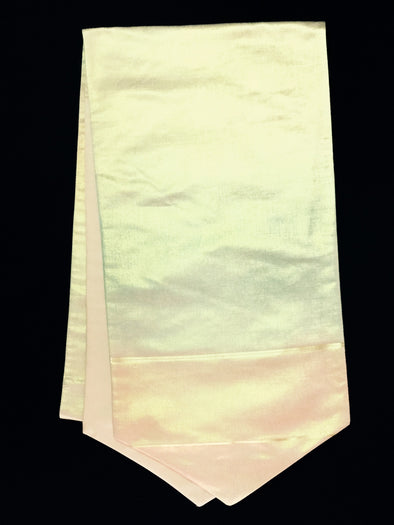 Table Runner Peach Metallic 001