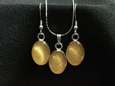 Kimono Earring and Necklace Set 054