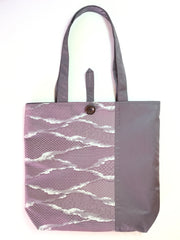 Tote bag Purple Magesty |トートバッグ 紫 雲取り