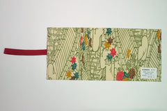 Bible cover mini yellow with leaves|バイブルカバーミニ 黄色葉っぱ