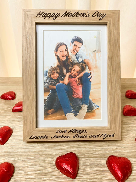 "Oak Photo Frame (5 x 7"")"