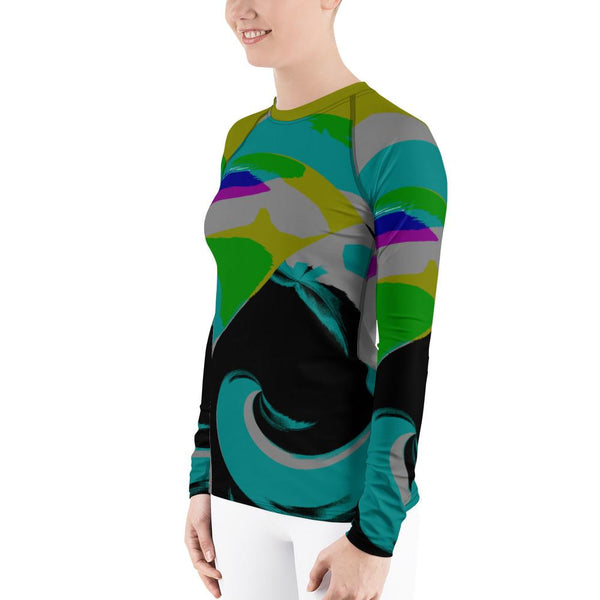 Astoria Rash Guard Women-Rash Guard-Chloe Lambertin