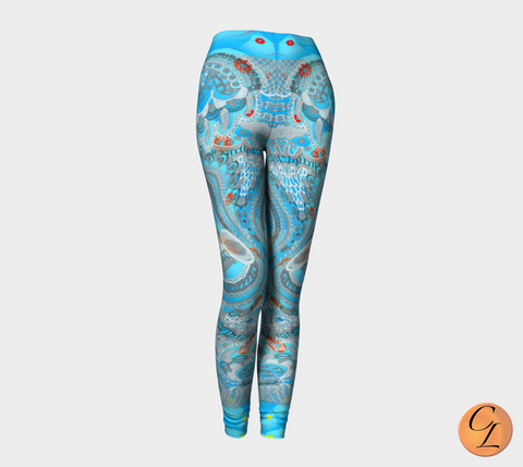 Bahamas Leggings-Leggings-Chloe Lambertin