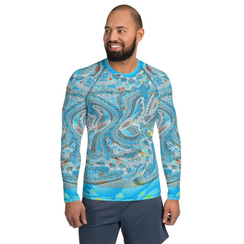 Bahamas Rash Guard Men-Rash Guard-Chloe Lambertin
