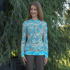 Bahamas Rash Guard Women-Rash Guard-Chloe Lambertin