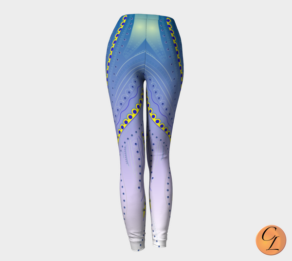 Bladesfade Leggings-Leggings-Chloe Lambertin
