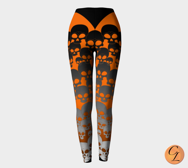Boo! Leggings-Leggings-Chloe Lambertin