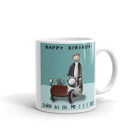 Born to be Mild Birthday Mug-Mug-Chloe Lambertin
