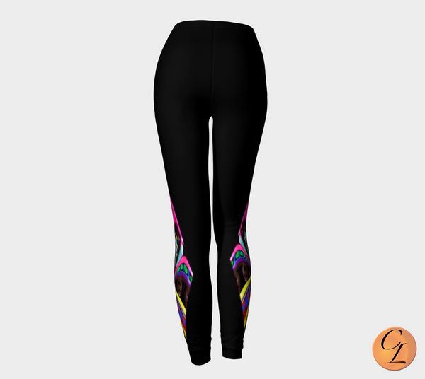 Candy Diamond Leggings-Leggings-Chloe Lambertin