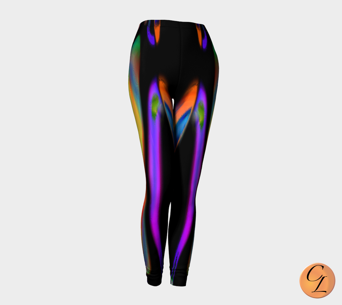 Circus Leggings-Leggings-Chloe Lambertin