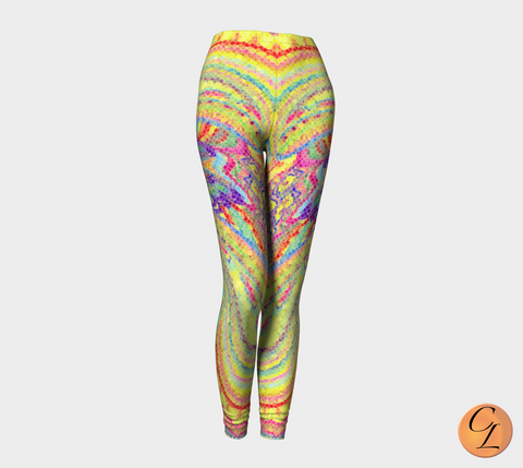 Diamondback Snakeskin Leggings-Leggings-Chloe Lambertin