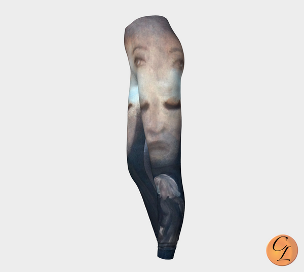 Faces Leggings-Leggings-Chloe Lambertin