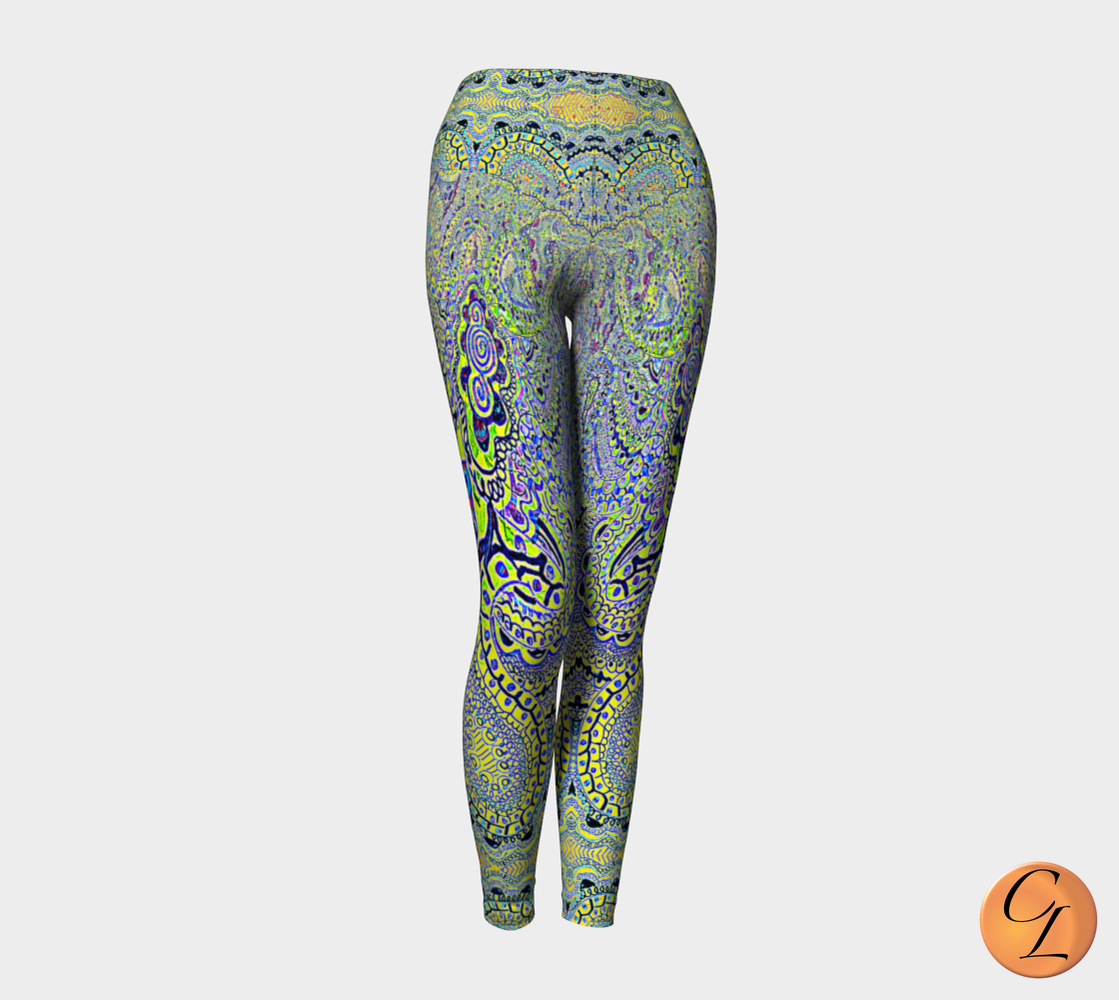 Fiji Bend Yoga Leggings-Yoga Leggings-Chloe Lambertin