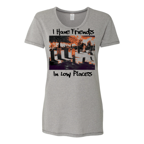 Friends in Low Places Keepsake T-Shirt-T-Shirts-Chloe Lambertin