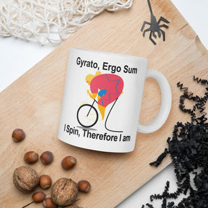 I Spin Therefore I Am Mug-Mug-Chloe Lambertin