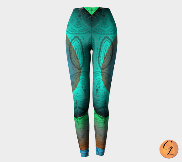 Lagoon Leggings-Leggings-Chloe Lambertin