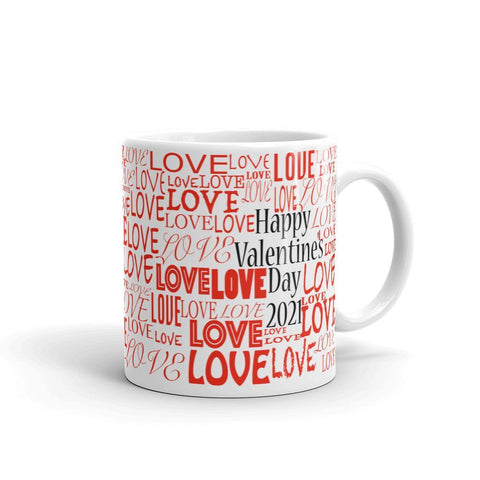 Love Valentines Day Mug, Valentines, Valentine, Gift for her, Gift for him, Valentines Day, Love, Boyfriend, Girlfriend, Mug, Husband, Wife-Chloe Lambertin