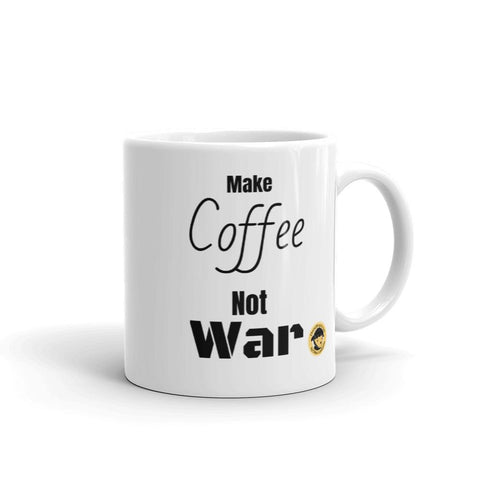 Make Coffee, not War Funny Mug.-Mug-Chloe Lambertin