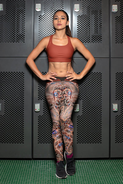 Mayan Leggings-Leggings-Chloe Lambertin