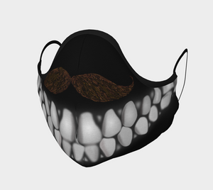 Mustache Teeth Mask-Face Covering-Chloe Lambertin