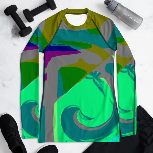 Park Slope Rash Guard Women-Rash Guard-Chloe Lambertin
