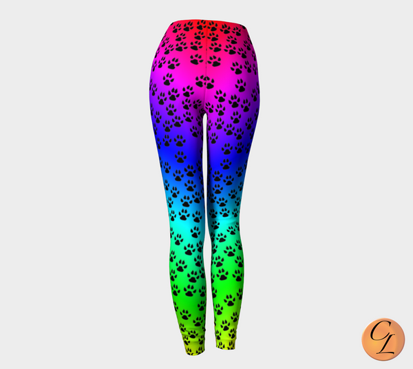 Paws 2-Leggings-Chloe Lambertin