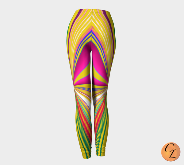 Planet Lines Leggings-Leggings-Chloe Lambertin