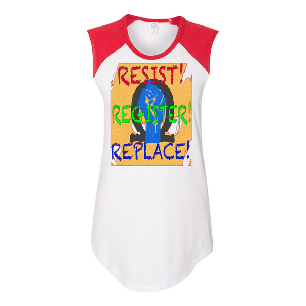 Resist Women's Vintage Team Player Tee-T-Shirts-Chloe Lambertin