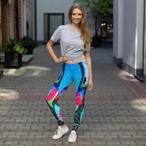 Seascape Leggings-Chloe Lambertin