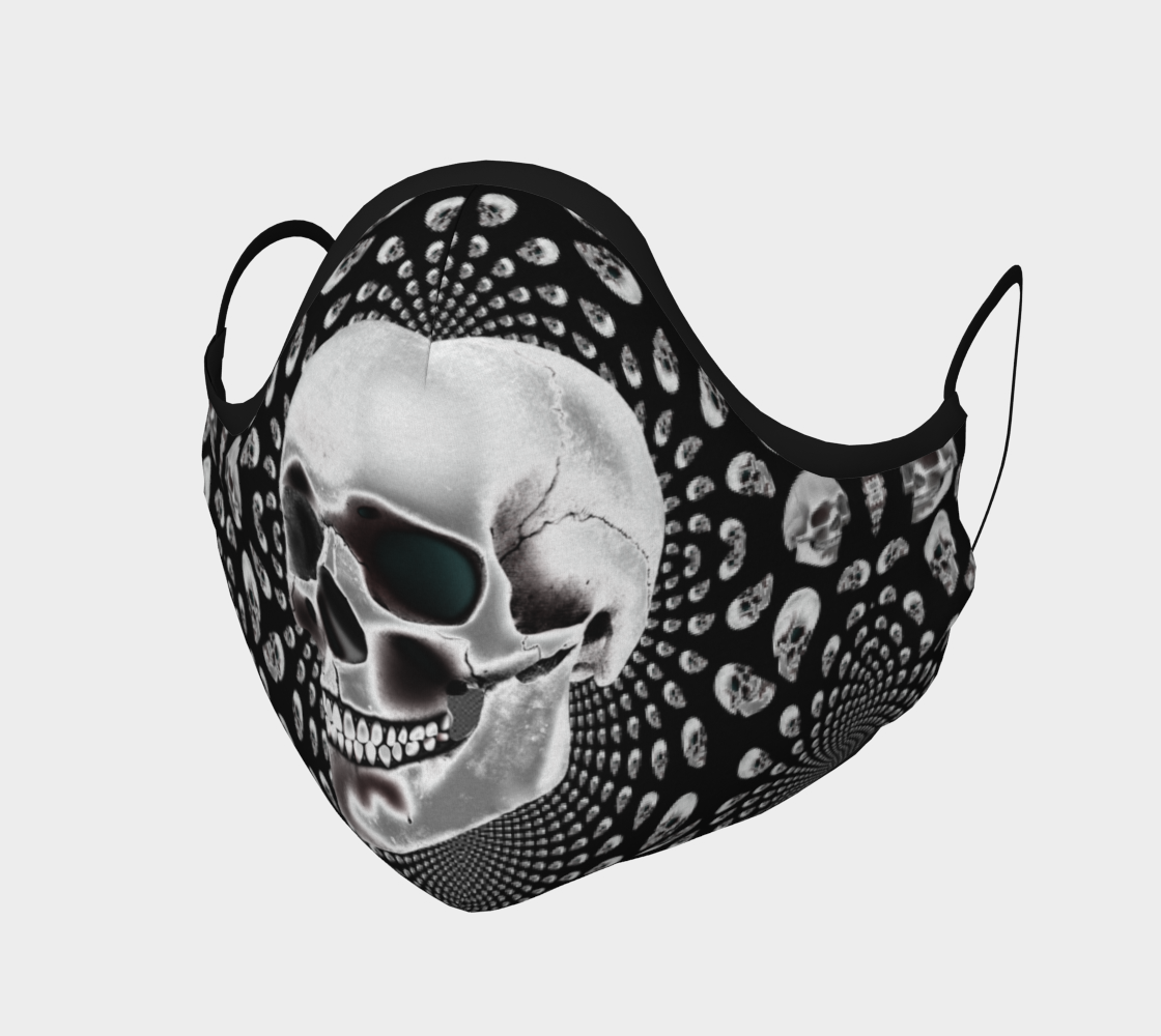 Skulls Mask-Face Covering-Chloe Lambertin