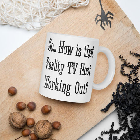 So How is That Reality TV Show Host Working Out Mug-Mug-Chloe Lambertin