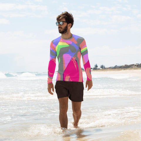 Soho Rash Guard Men-Rash Guard-Chloe Lambertin