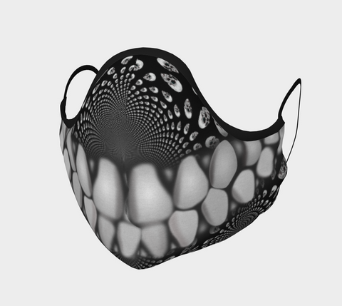 Teeth Skulls Mask-Face Covering-Chloe Lambertin
