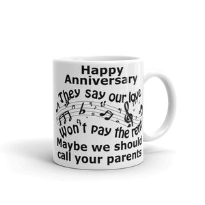 They Say Our Love Anniversary Mug-Mug-Chloe Lambertin