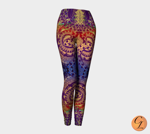 Wild Berry 1 H AW Leggings-Leggings-Chloe Lambertin