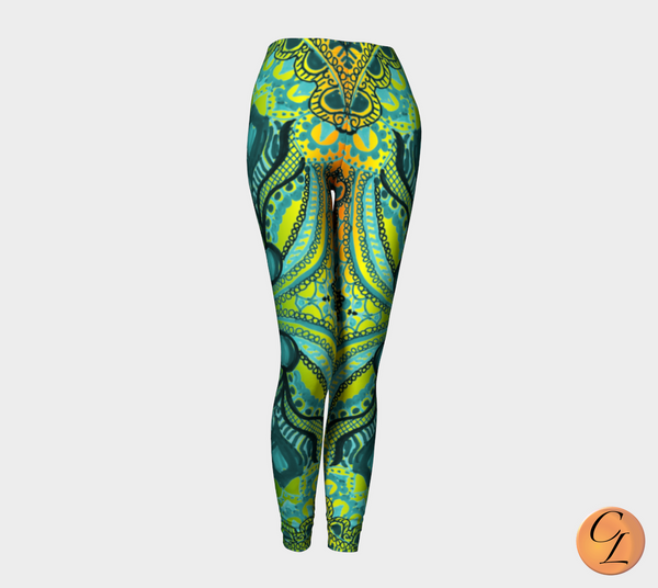 Wild Jamaica 2 Leggings-Leggings-Chloe Lambertin