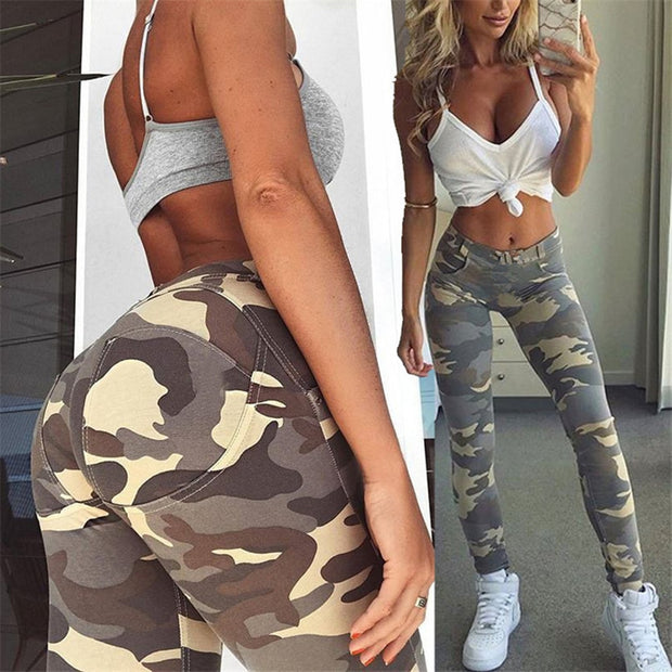 Camouflage Sexy Workout Leggings - Fitnessster