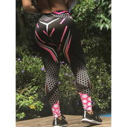 Elastic Force Breathable Fitness Leggings - Fitnessster