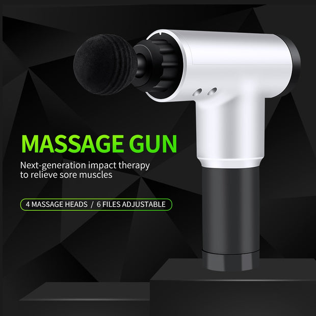 Massager Gun™ - 4 In One Relieving Pain
