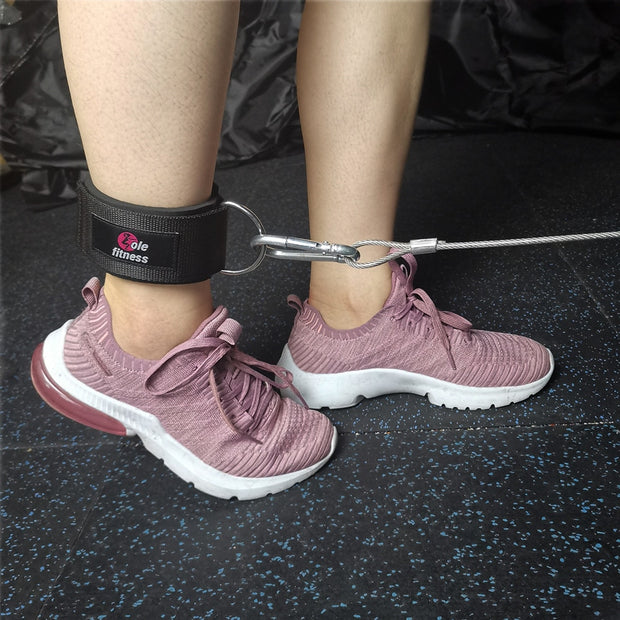 1 Pair D-Ring Ankle Straps Attachment