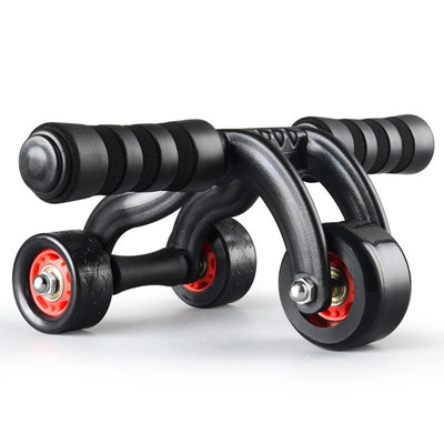 Three Wheels Ab Abdominal Exercise Roller - Fitnessster