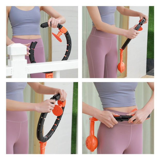 Smart Thin Waist Ring Auto-Spinning Hoop