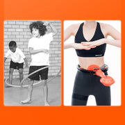 Smart Thin Waist Ring Auto-Spinning Hoop - Fitnessster