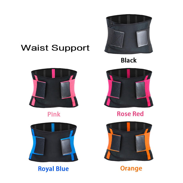 Adjustable Waist Back Support Weightlifting