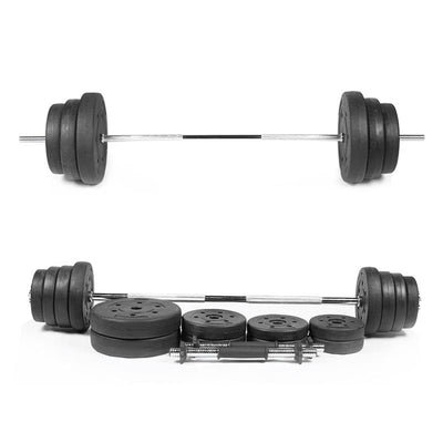 2PCS Plastic Coated Dumbbell