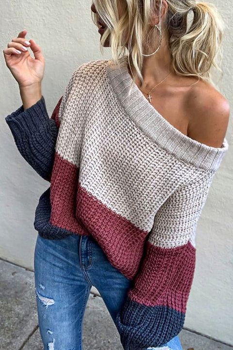 Puradress Hot Coco Time Loose Casual Sweater
