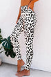 Puradress Leopard High Waist Jogger Yoga Pants